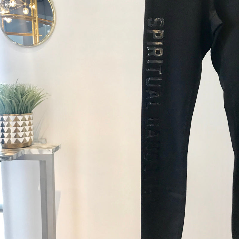 SG - 7/8 High Vibe Legging (Glossy Writing)