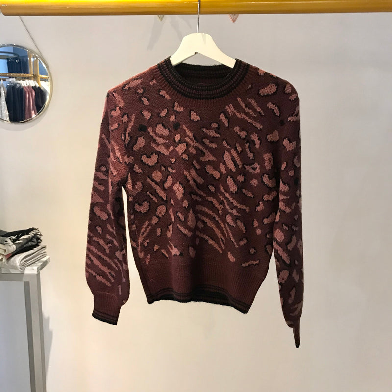 Heartloom - Mabel Sweater (wine)