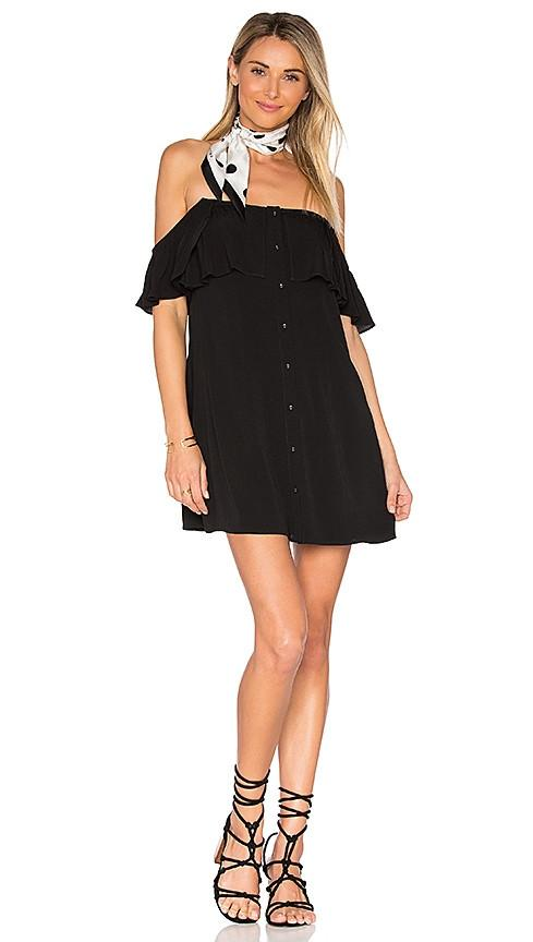 Privacy Please - Norval Dress in Black