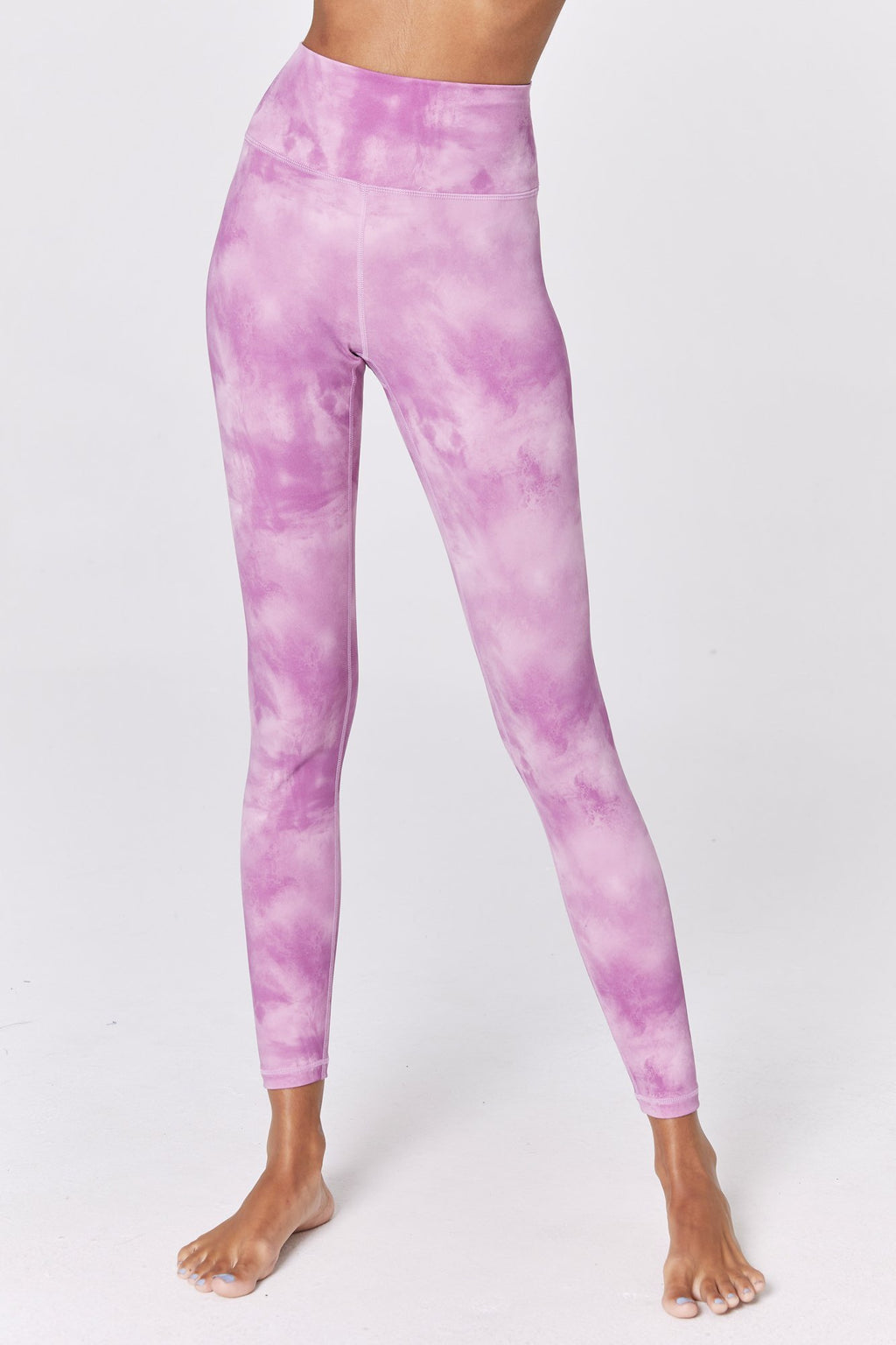 Spiritual Gangster - Perfect High Waist 7/8 Legging Sunset Dye Print