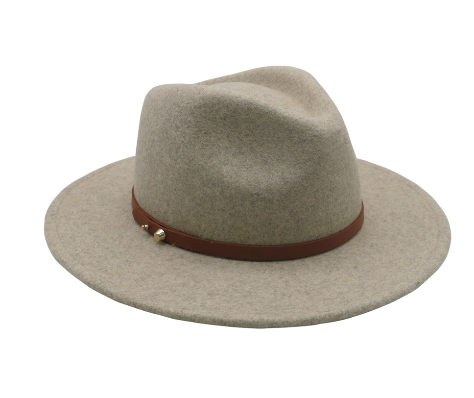 Ace of Something - Oslo fedora (Pebble)