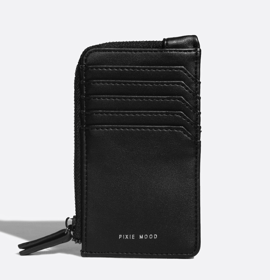 Pixie Mood - Quinn Card Wallet (Blk)
