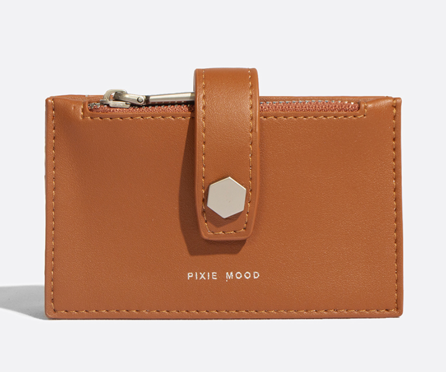 Pixie Mood - Rika card holder (Camel)