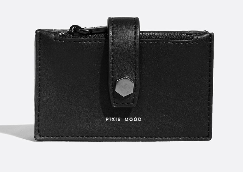 Pixie Mood - Rika card holder (Blk)