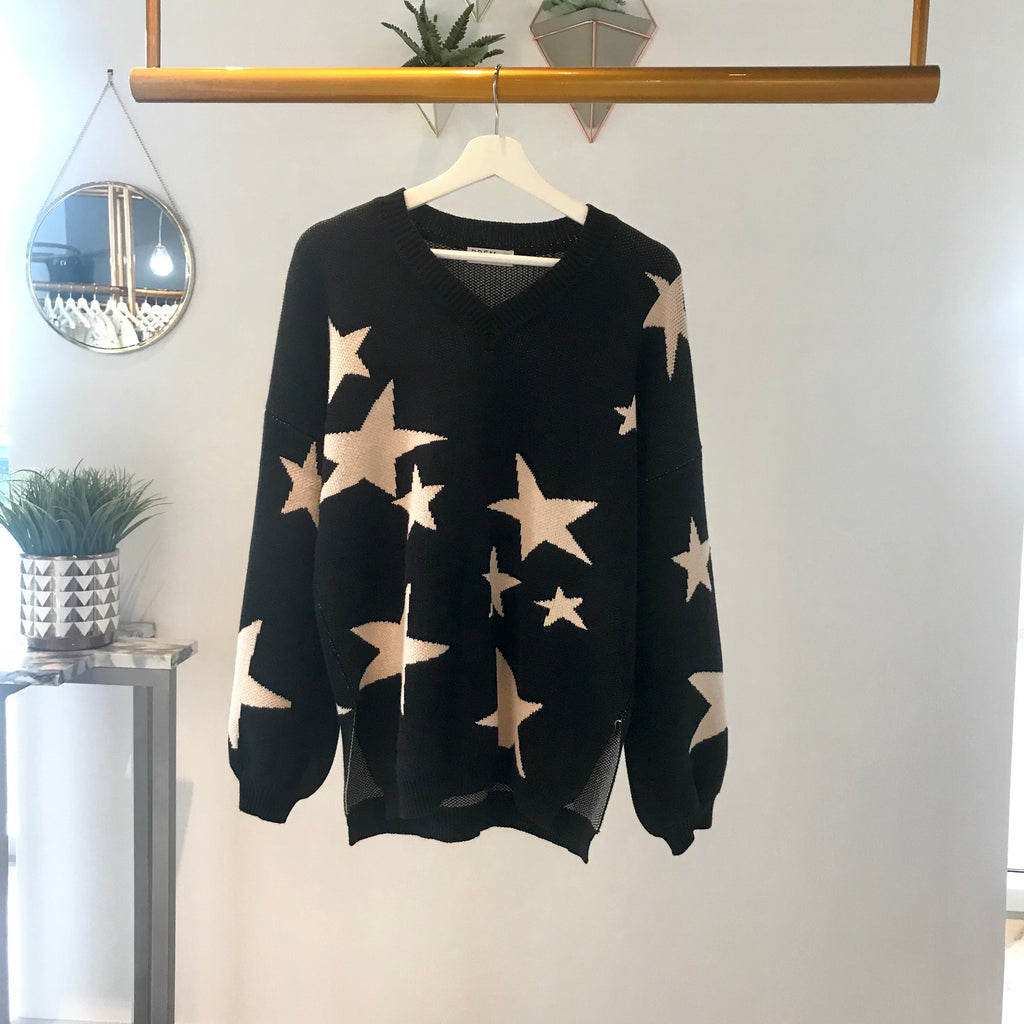 Shooting Star Knit (black)