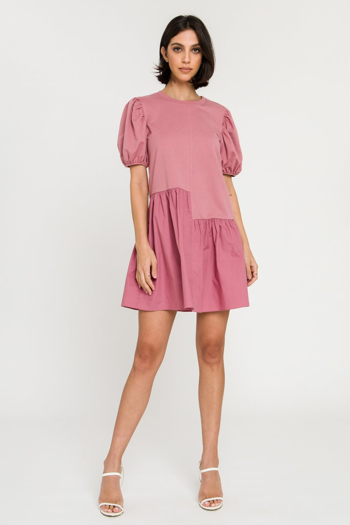 Maeve Pink Babydoll Dress