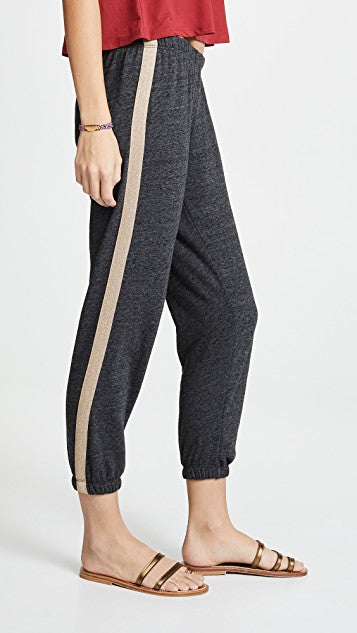 SG - Sparkle Stripe Perfect Sweatpants
