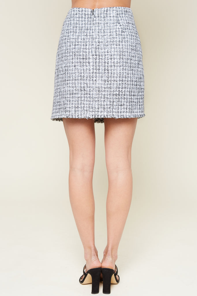 Jessay Tweed Skirt