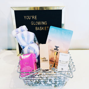 Bridal Beauty Basket - You're Glowing