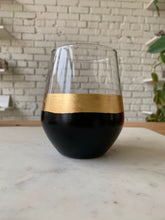 Load image into Gallery viewer, hand painted wine glass