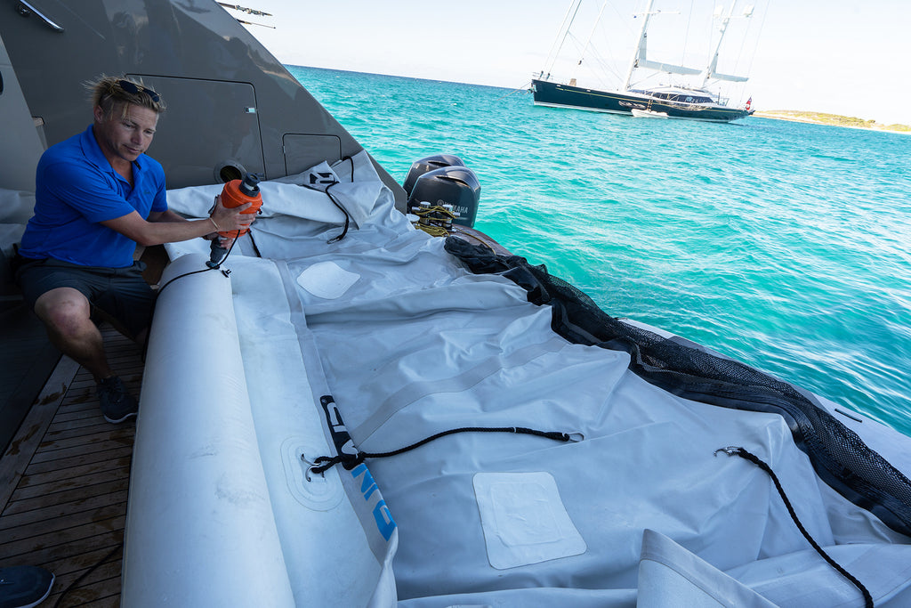 Reducing Set-up Times for Your Superyacht Inflatables