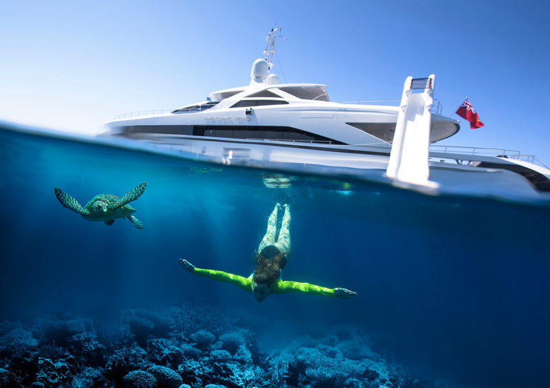 The Best Yacht Slide for Superyacht Charter