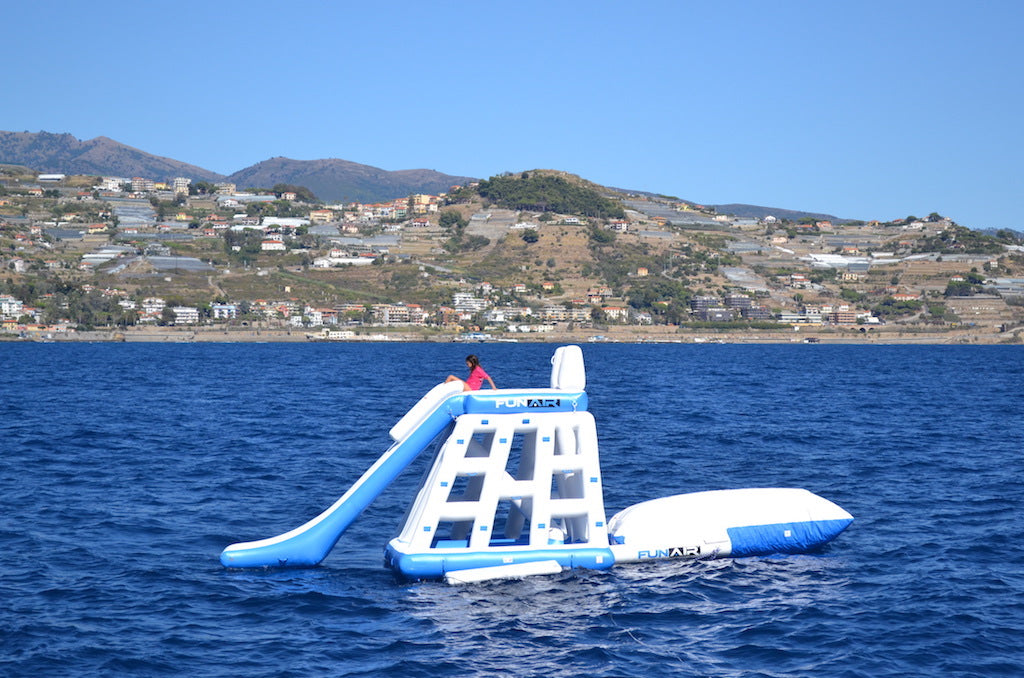 Floating Playground and Junior BigAir Blob for Superyachts