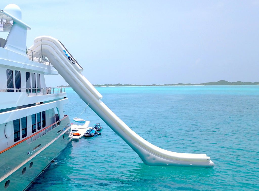 What type of Yacht Slide is right for you and your crew?