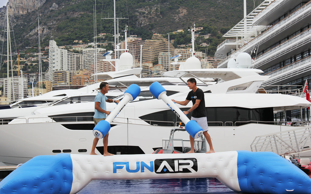 FunAir Yacht Joust – Could you be the next superyacht gladiator?