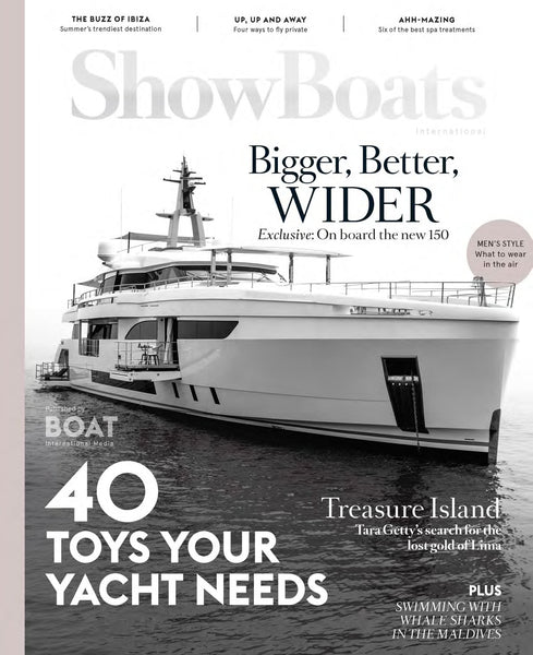 Inflatable yacht toys in ShowBoats International
