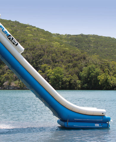 Inflatable Water Slide for Boat Dock