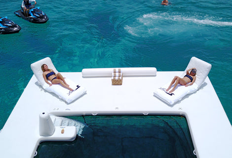 Superyacht Wave Loungers