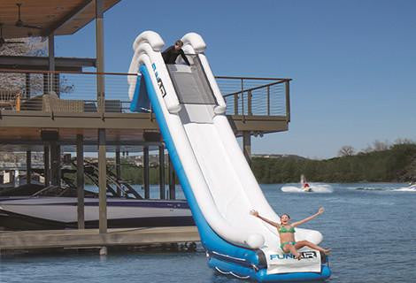 Inflatable Boat Dock Slide