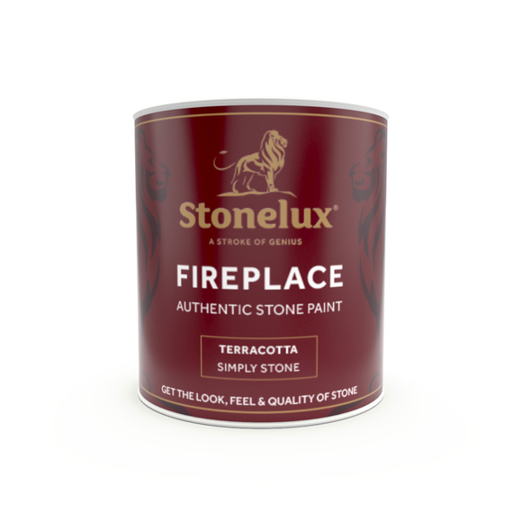 Fireplace Stone Coating