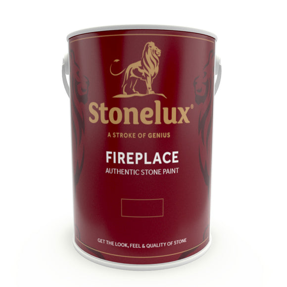 10 Litre Fireplace Stone Coating - Stone Effect Fireplace Paint