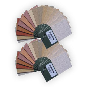 The Stone Range Colour Swatches
