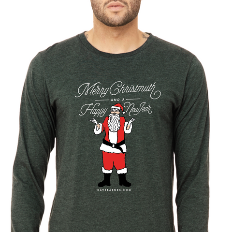 Merry Christmuth - Long Sleeve Tee