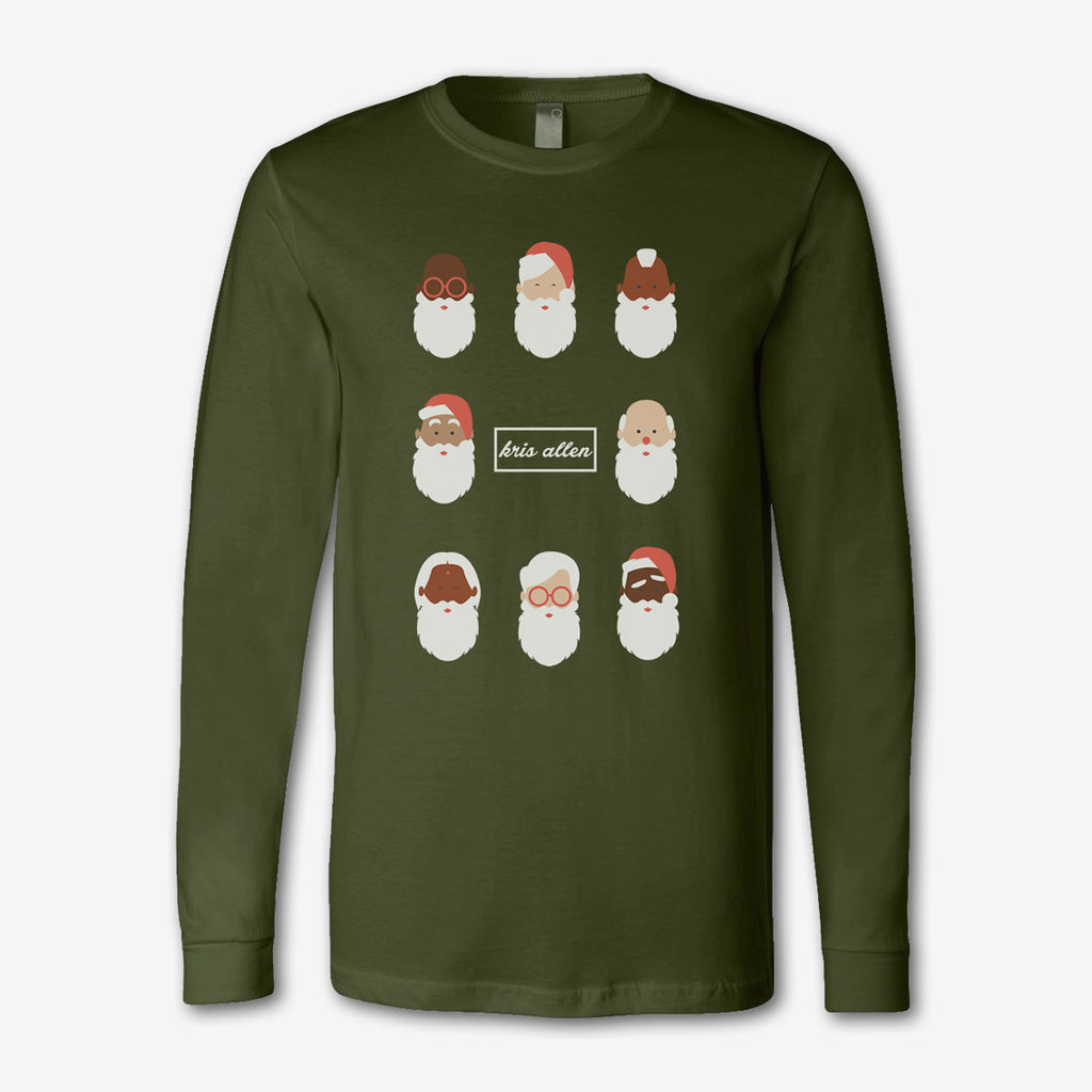 Santa Long Sleeve Tee