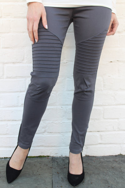 Moto Leggings - B.L.U.S.H. Boutique