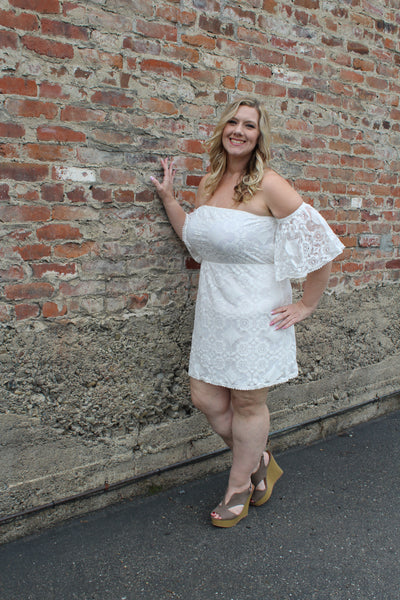 Sunsets & Lace Dress - B.L.U.S.H. Boutique