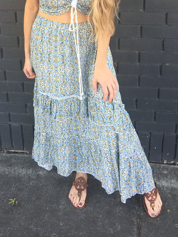 Sunday Morning Skirt - B.L.U.S.H. Boutique