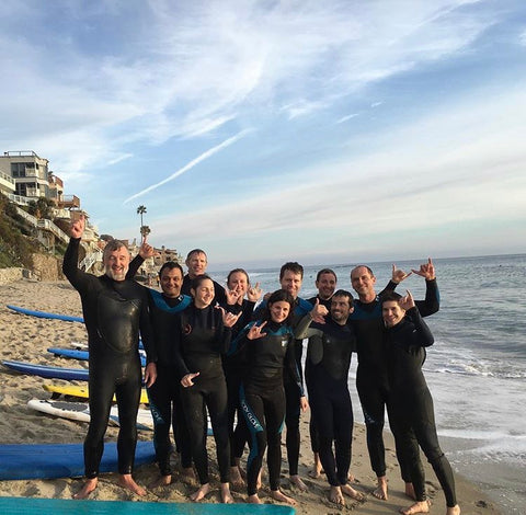 Learn to surf Laguna Beach, surf lesson