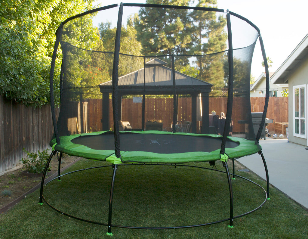 12ft Hyperjump Plus Springless Trampoline Outward Play