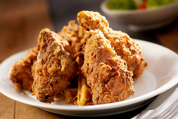 Fried Chicken and Honey