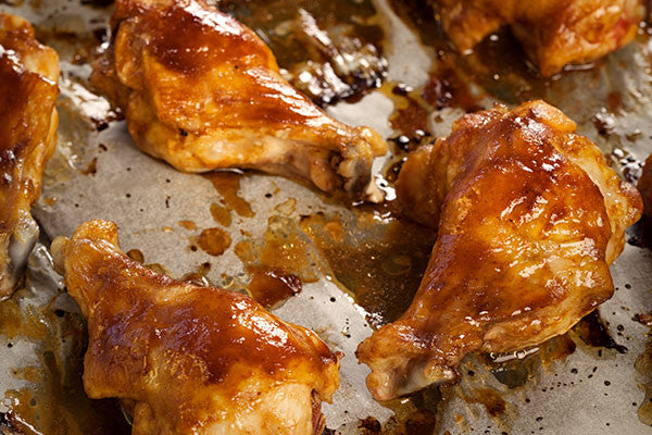 Saucy BBQ Chicken Wings