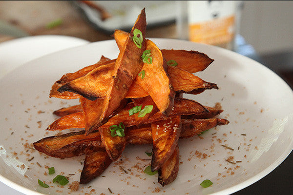 Roasted Sweet Potato Chips