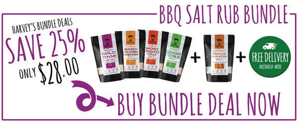 BBQ Rub Salt Bundle from Harveys' Kitchen