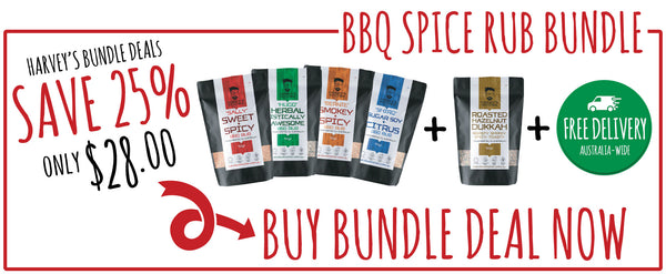Harveys Kitchen BBQ Spice Rub Bundle
