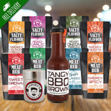 Meat Rub & Salty Flavour BBQ Box