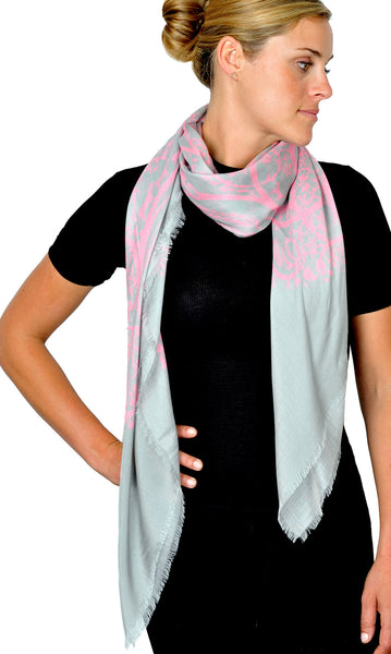 Action Against Hunger pashmina scarf - pink