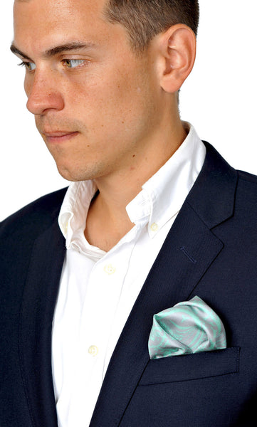 Action Against Hunger Pocket Scarf - teal/grey