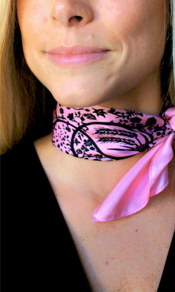 Action Against Hunger Ty Scarf - pink/black