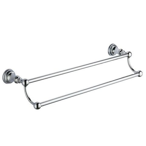 K-Vit Astley Double Towel Bar - Kent Plumbing Supplies