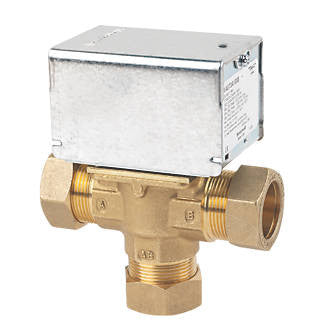 Honeywell 3 Port Mid-Position Valve V4073A