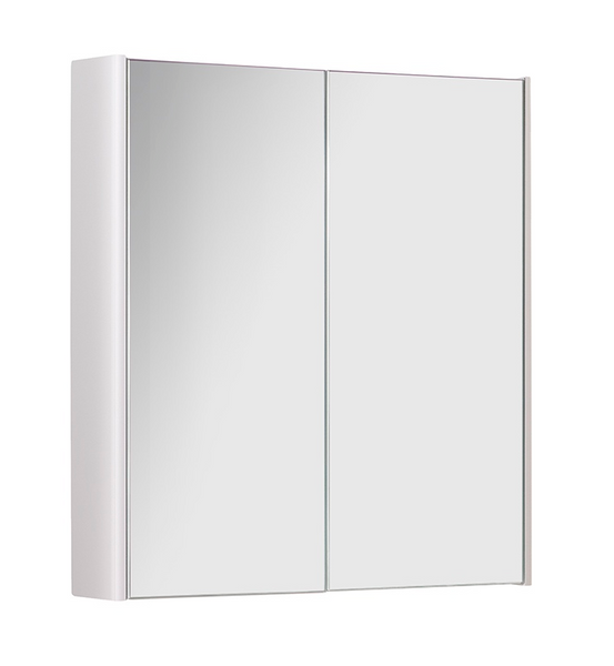 Kartell K-Vit Options 500mm Mirror Cabinet - White