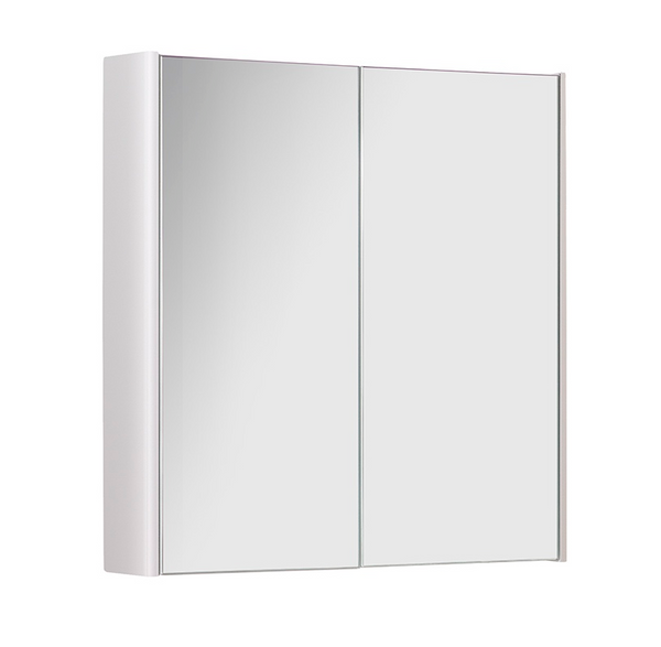 Kartell K-Vit Options 600mm Mirror Cabinet - White