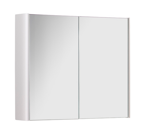 Kartell K-Vit Options 800mm Mirror Cabinet - White