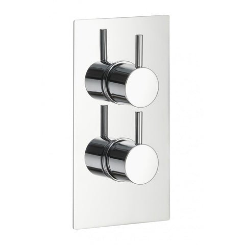 Pura Arco Single Outlet Concealed Thermostatic Shower Valve 6001 - Kent Plumbing Supplies