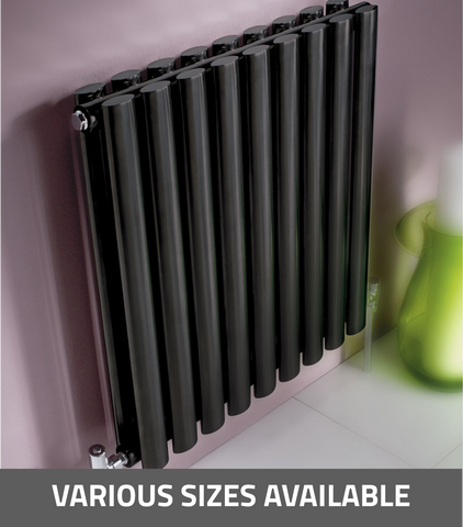 Kartell K-Rad Aspen Horizontal Single Radiator - Anthracite