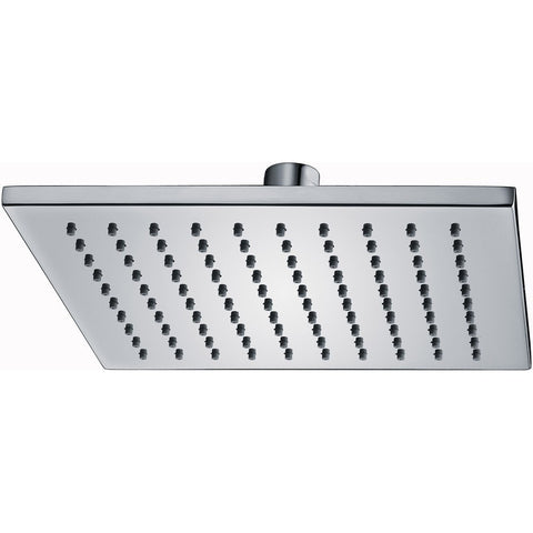 Pura Brass 200mm Square Shower Head KI073 - Kent Plumbing Supplies
